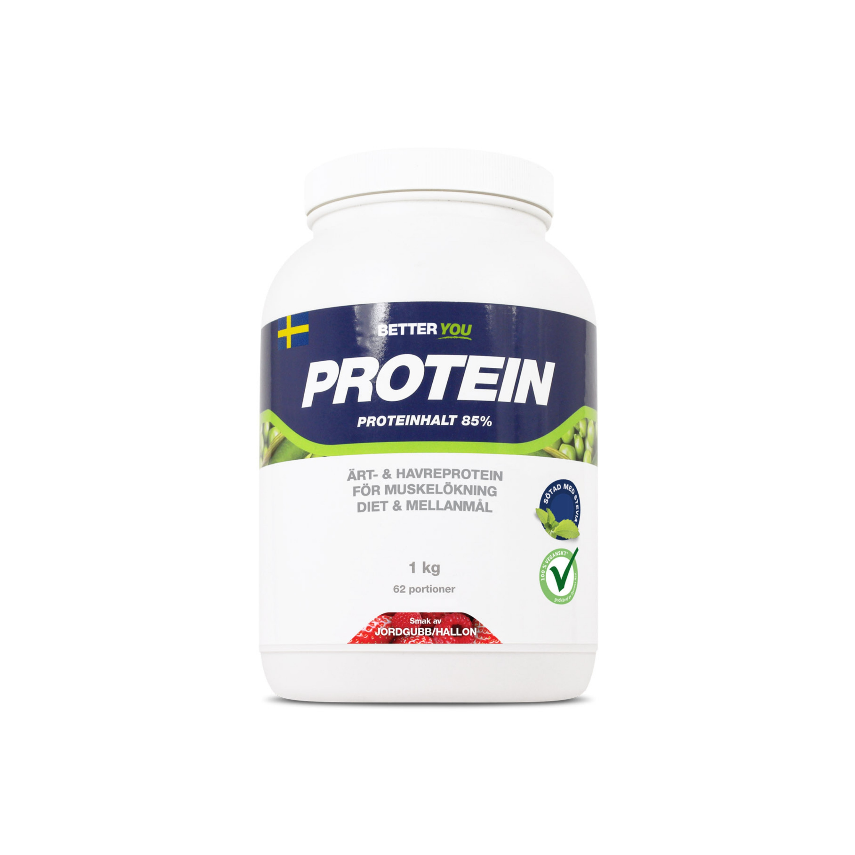 Ärt-Havreprotein jordgubb/hallon 1kg