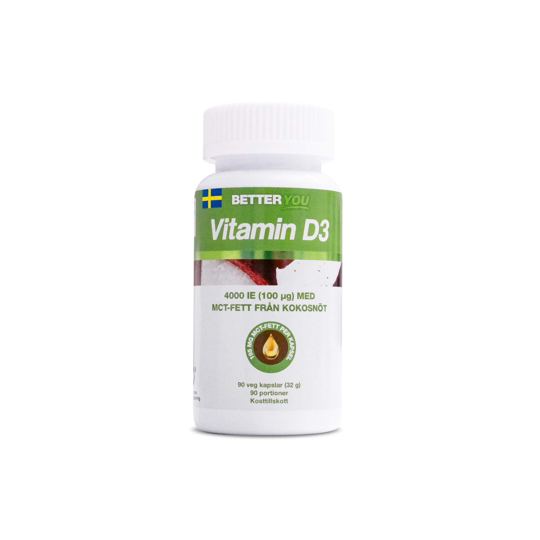 D3-vitamin 4000IE 90k