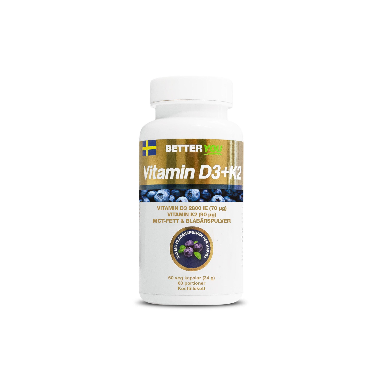 Vitamin D3 & K2 60k