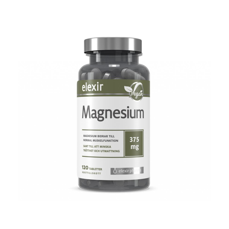 Magnesium 375mg 120t