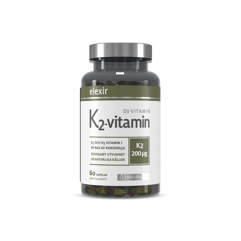 K2 & D3 Vitamin 60k