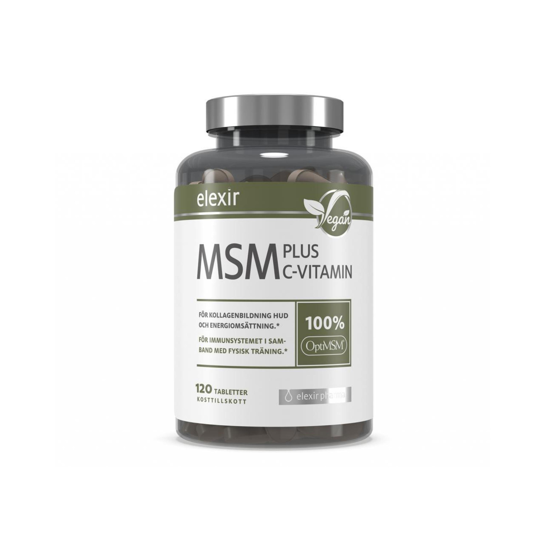 MSM plus C-Vitamin 120t