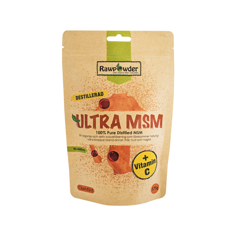 MSM Ultra & C vitamin 175g