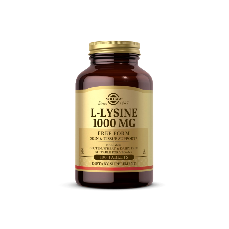 L-lysine 1000mg 100t