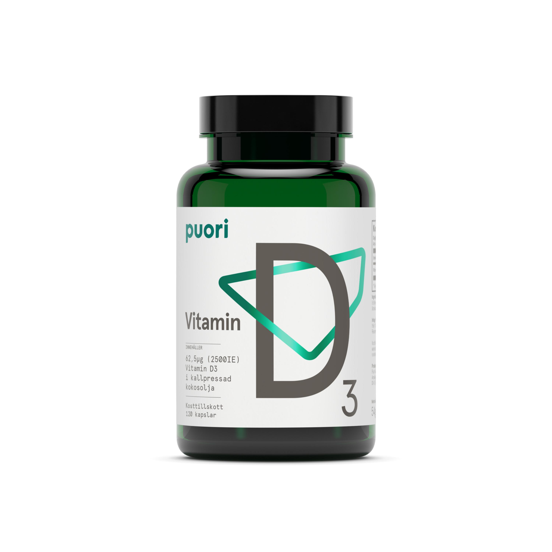 D3 D-vitamin 2500IE 120k