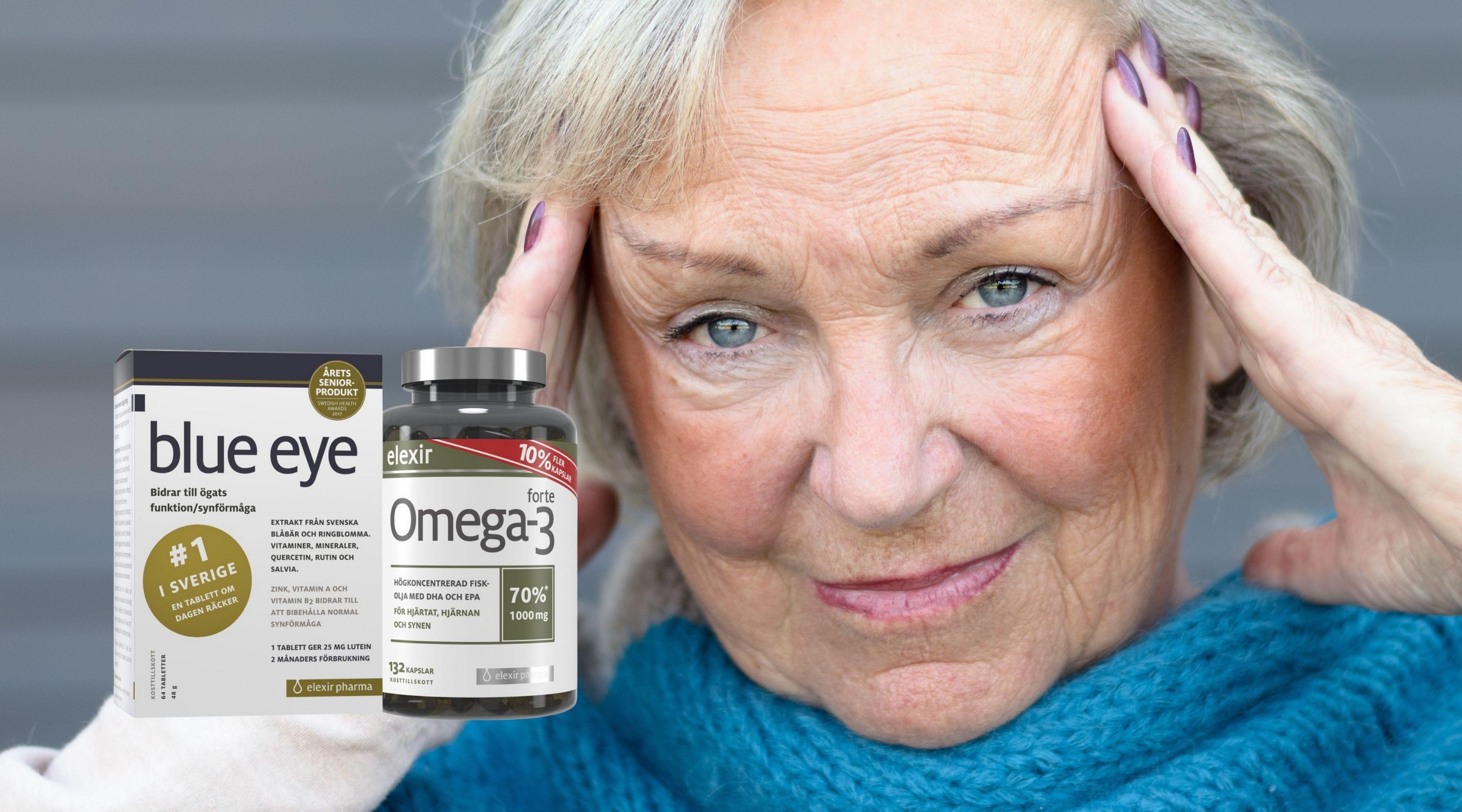 Blue Eye och omega-3 – perfekt kombo för ögonhälsa