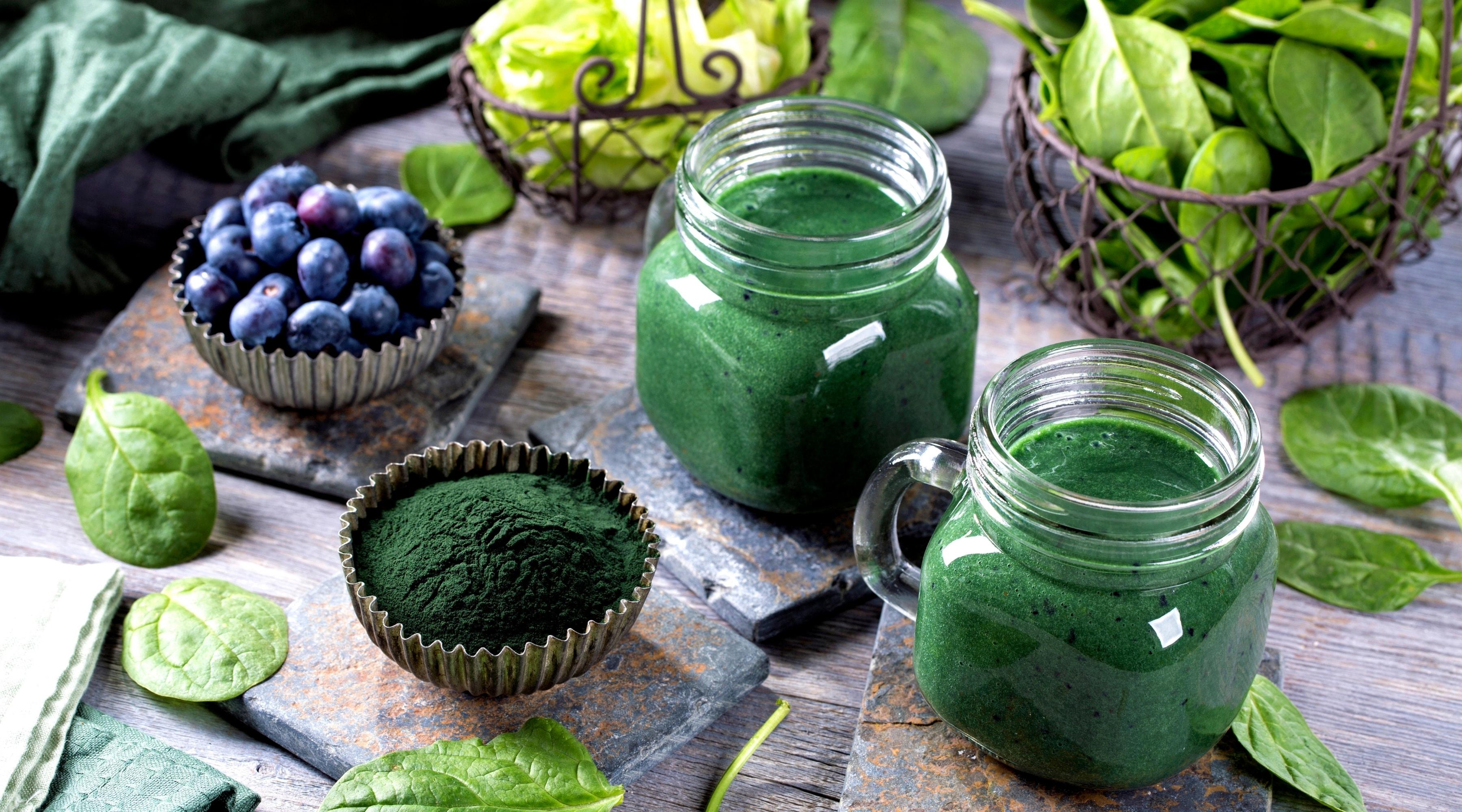 Klorofyll – grönt i gröna växter